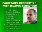 pakistan s connection with islamic terrorism