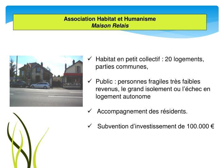 Association Habitat et Humanisme