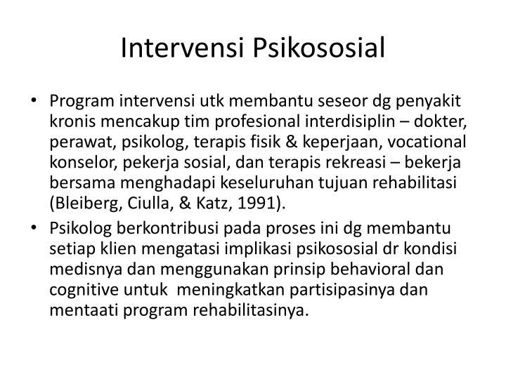Intervensi
