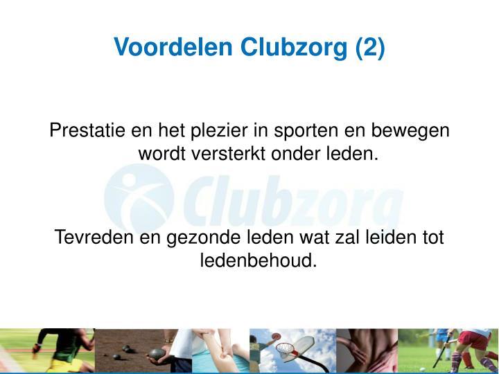 Voordelen Clubzorg (2)