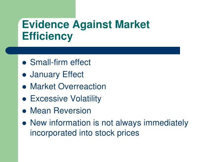 stock market efficiency how does it What is market efficiency meaning of market  what does market efficiency  mean in finance  research and markets: how efficient is china's stock market.