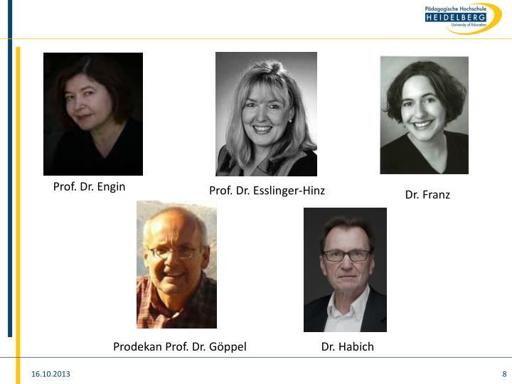 Prof. Dr. Engin