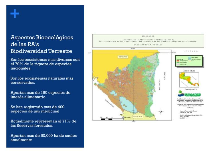 Aspectos Bioecológicos de las RA's