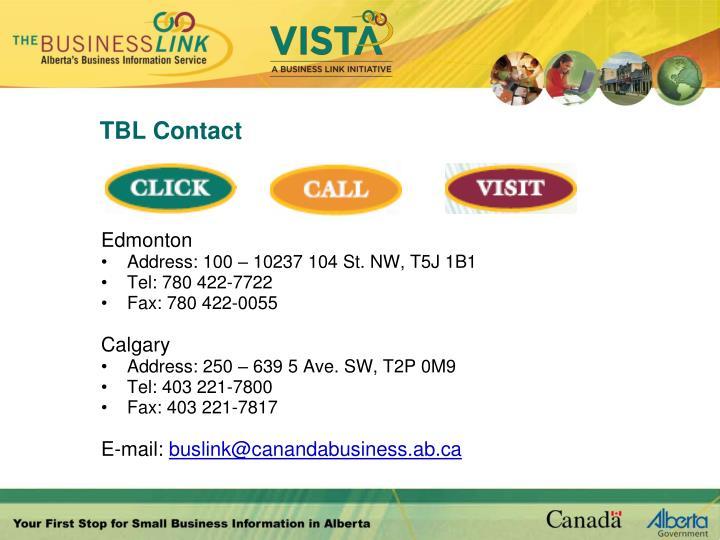 TBL Contact