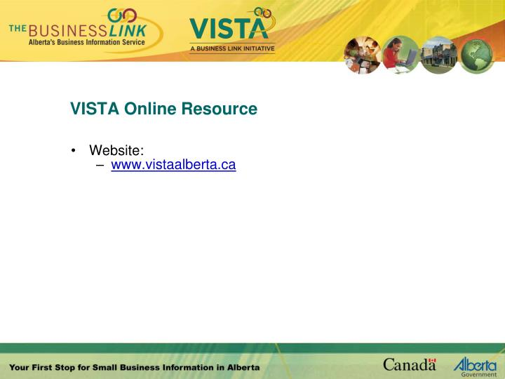 VISTA Online Resource