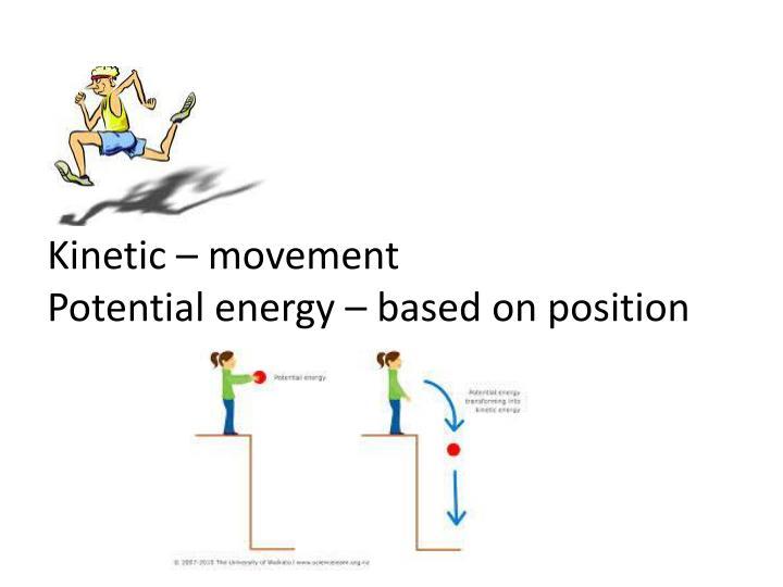Kinetic – movement