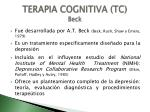 terapia cognitiva tc beck