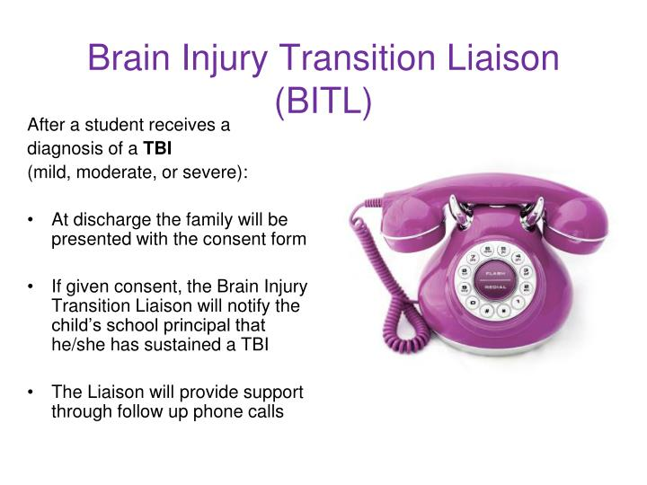 Brain Injury Transition Liaison (BITL)