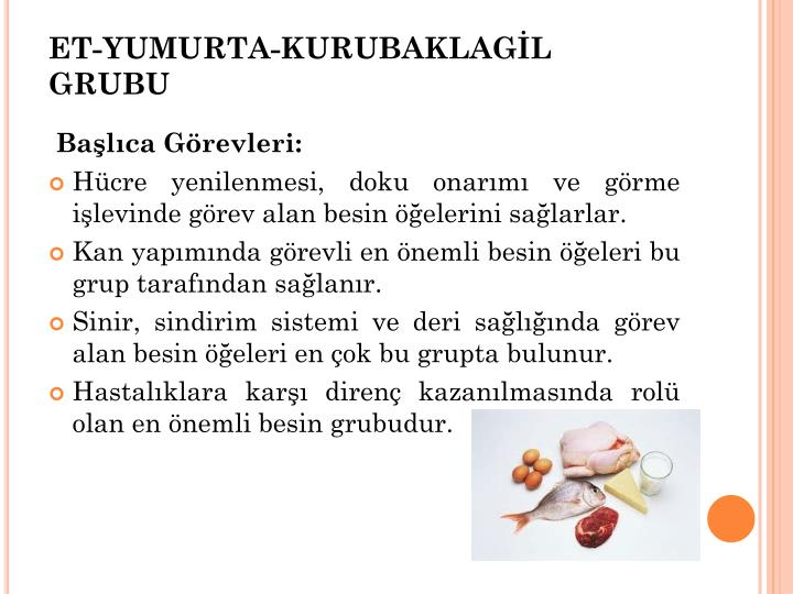 ET-YUMURTA-KURUBAKLAGL GRUBU