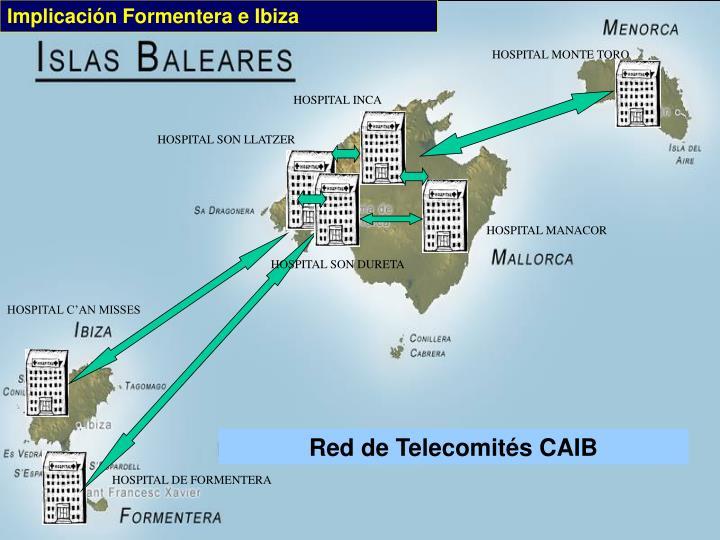 Implicación Formentera e Ibiza