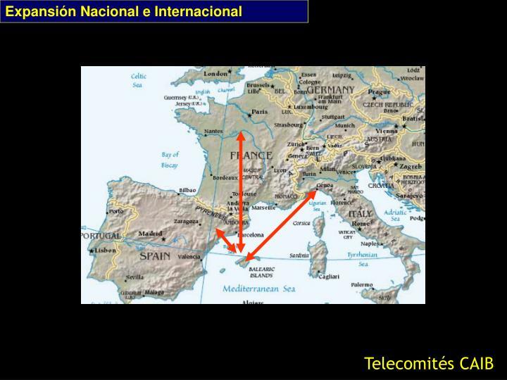 Expansión Nacional e Internacional