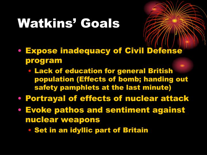 Watkins' Goals