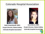 colorado hospital association