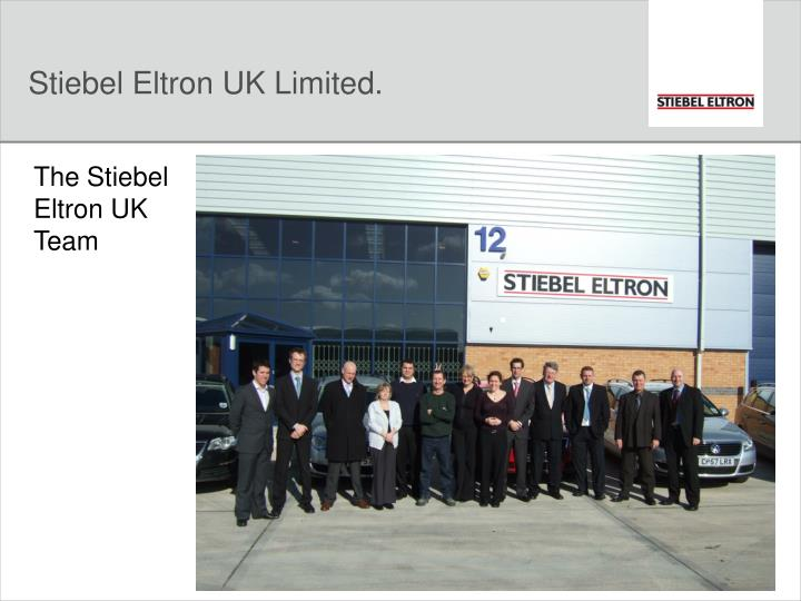 Stiebel eltron uk limited