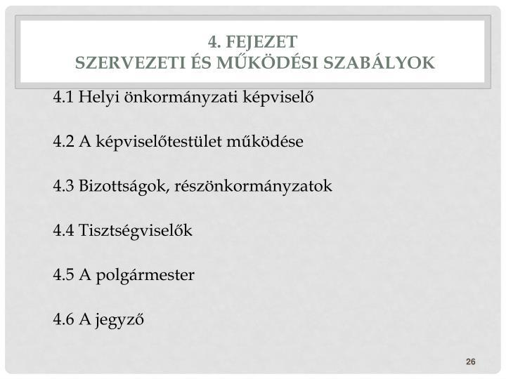 4. fejezet