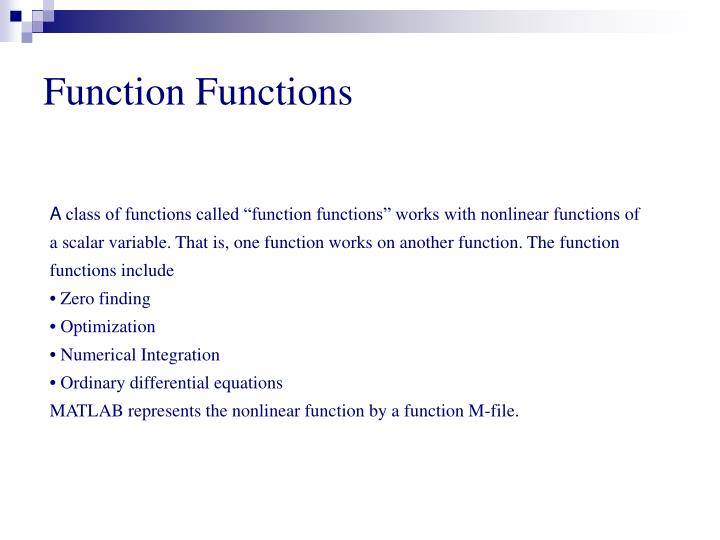 Function Functions