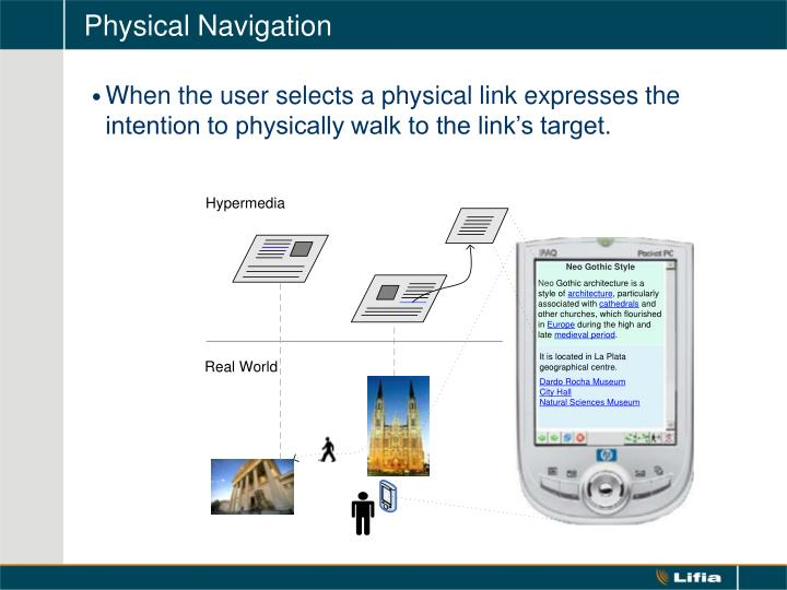 Physical Navigation