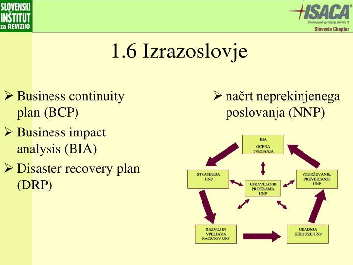 načrt neprekinjenega poslovanja (NNP)