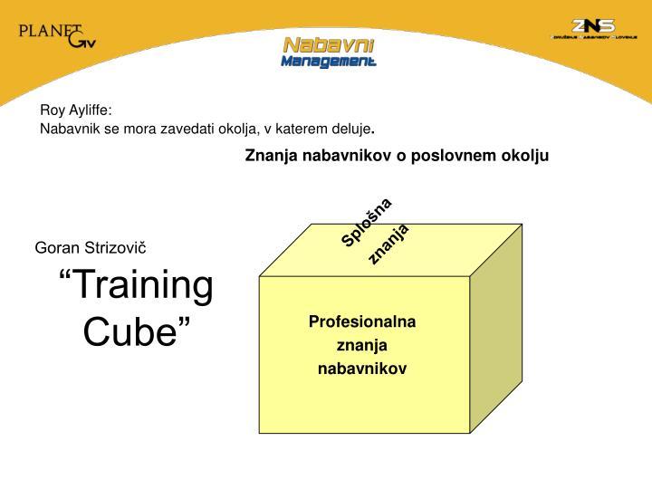 """Training Cube"""
