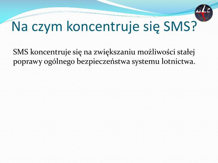 Na czym koncentruje się SMS?