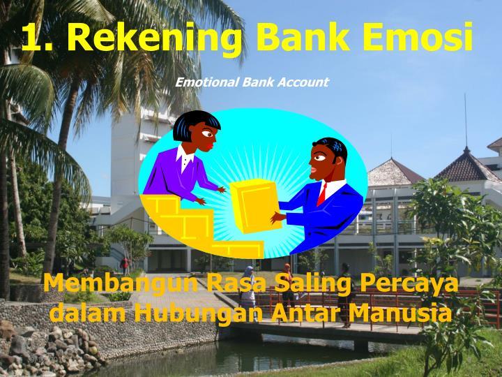 Emotional Bank Account