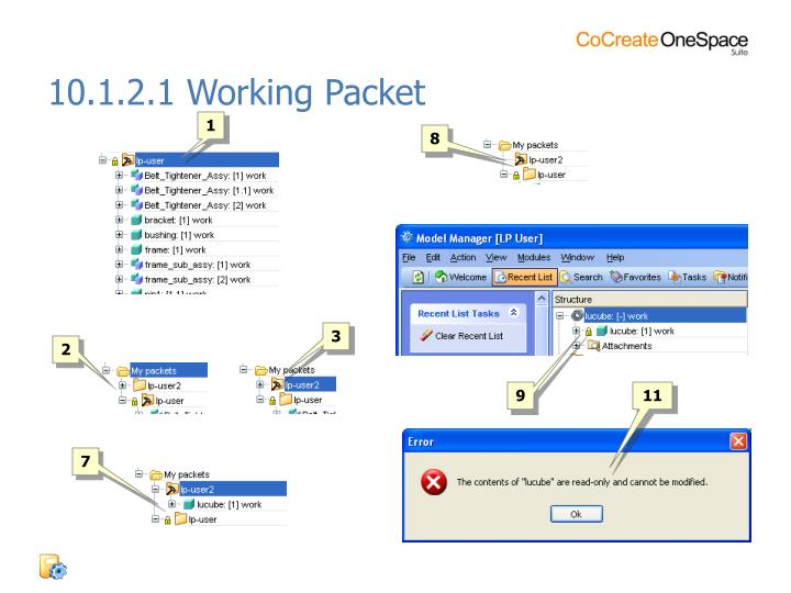 10.1.2.1 Working Packet