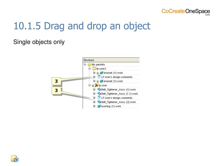10.1.5 Drag and drop an object