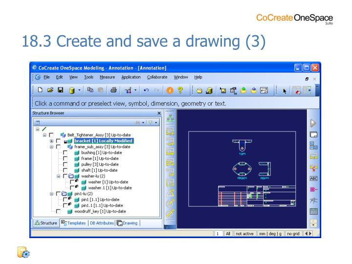 18.3 Create and save a drawing (3)