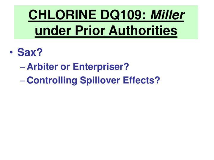 CHLORINE DQ109: