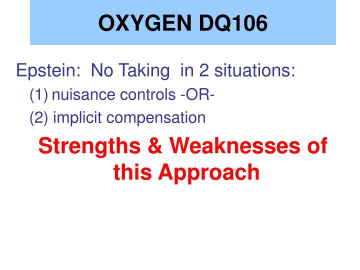 OXYGEN DQ106