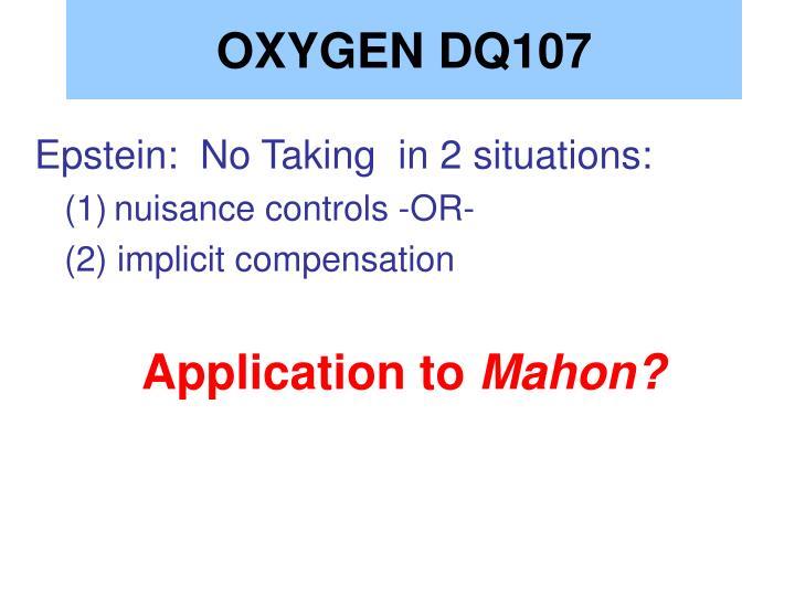 OXYGEN DQ107