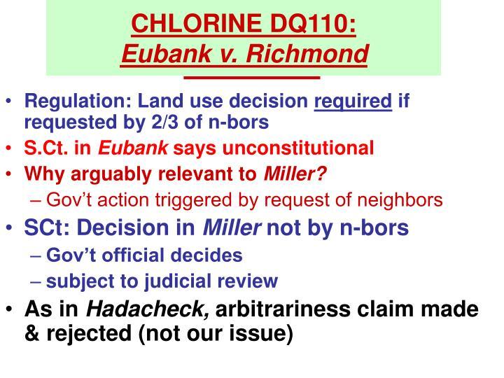 CHLORINE DQ110: