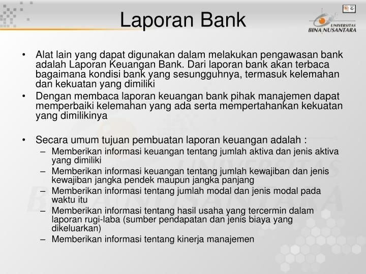 Laporan Bank