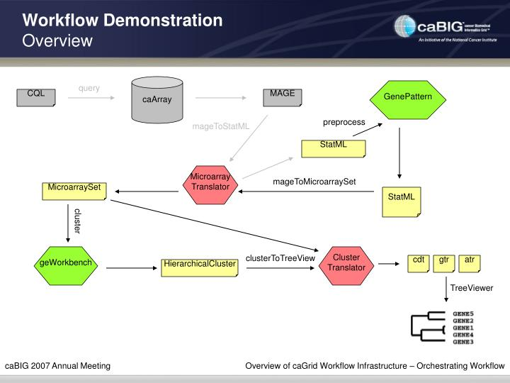 Workflow Demonstration