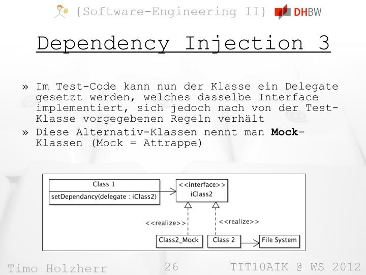Dependency Injection 3