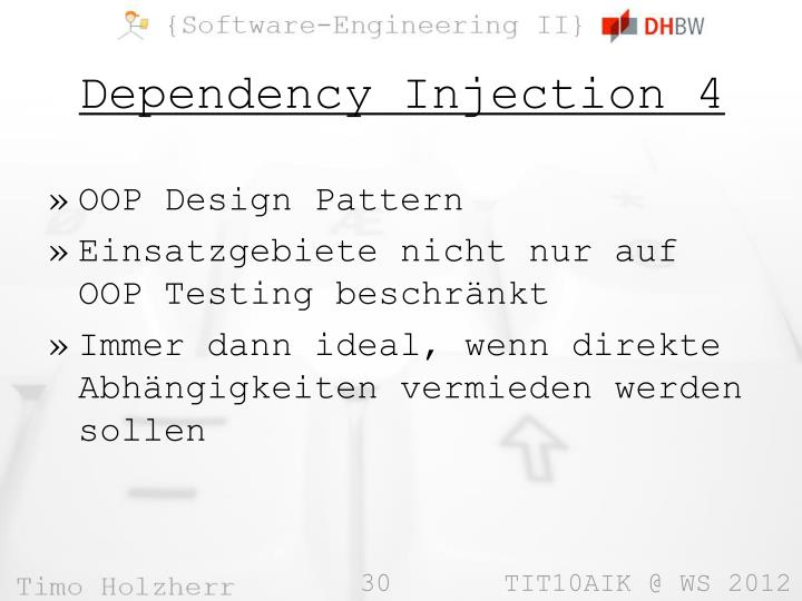 Dependency Injection 4