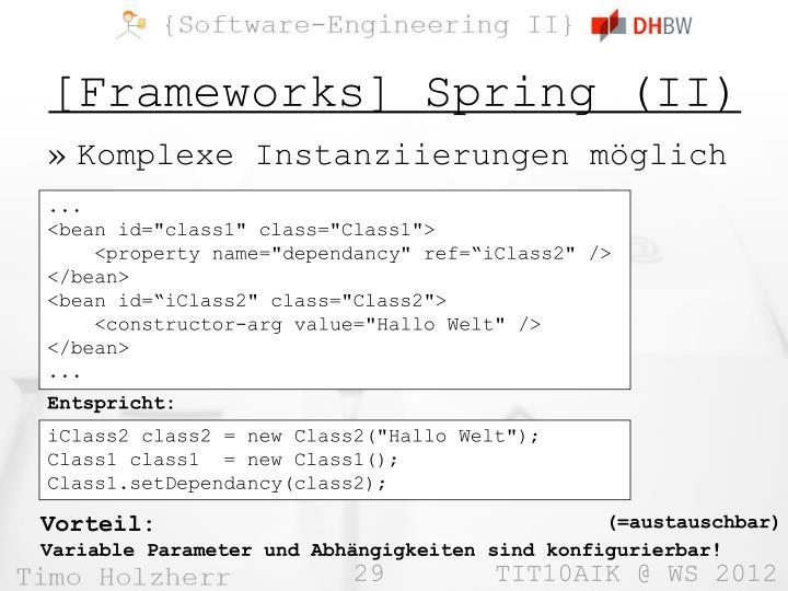 [Frameworks] Spring (II)