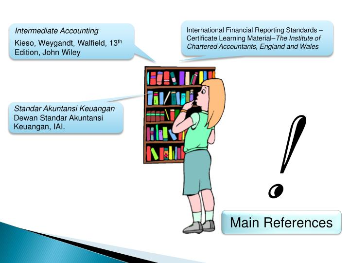International Financial Reporting Standards – Certificate Learning