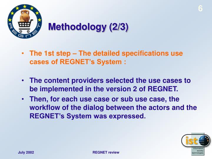 Methodology (2/3)