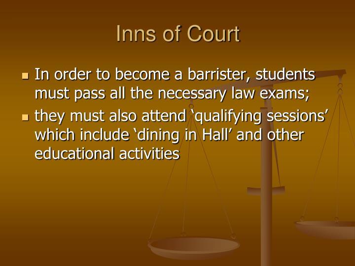 Inns of Court