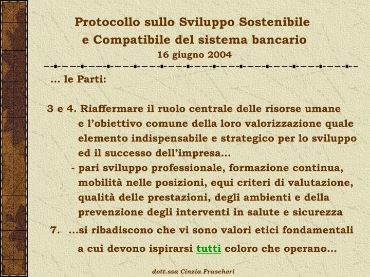 Protocollo sullo Sviluppo Sostenibile