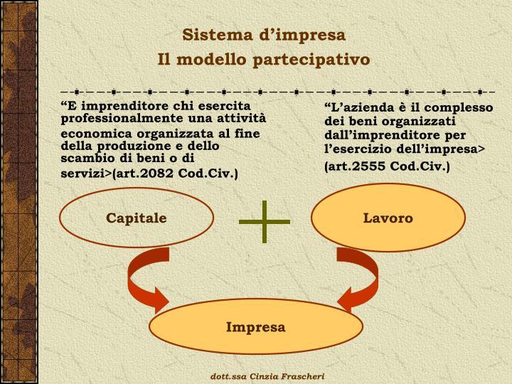 Sistema d'impresa