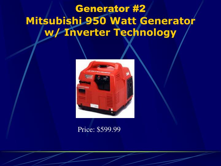 Generator #2