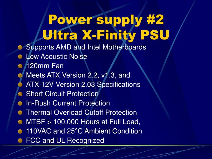 Power supply #2
