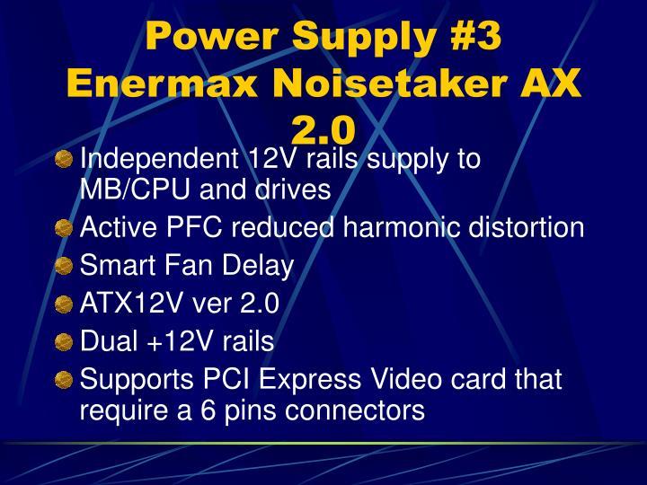 Power Supply #3