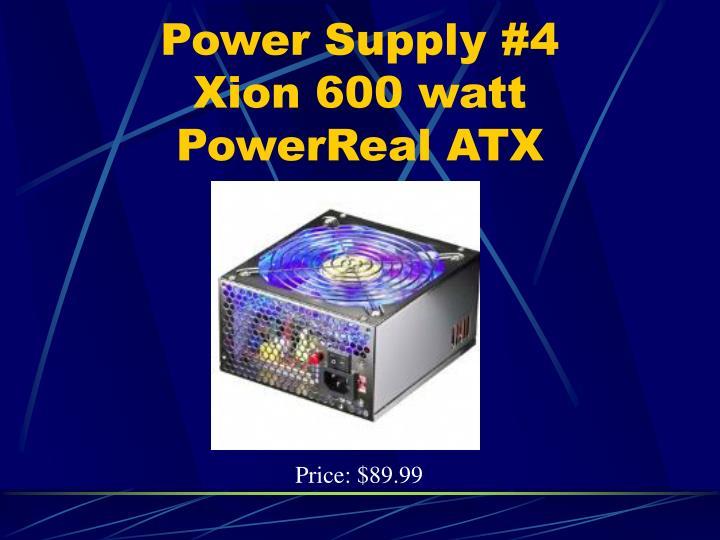 Power Supply #4