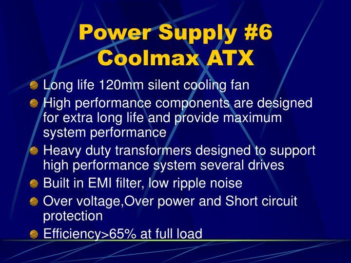 Power Supply #6