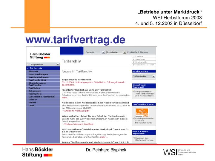 www.tarifvertrag.de