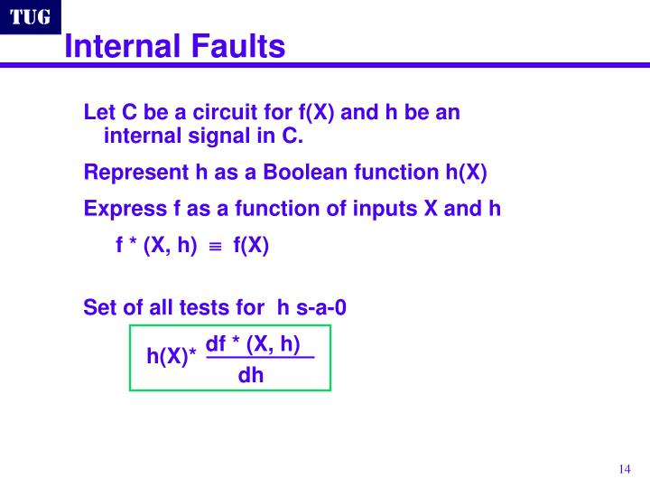 Internal Faults