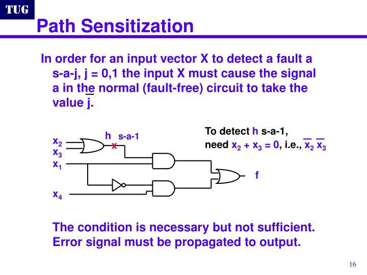 Path Sensitization